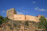 Ancient Castle La Mola of Novelda, Alicante, Spain poster