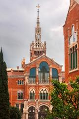 Hospital de la Santa Creu i de Sant Pau, Barcelona, Spain