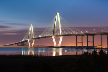 Arthur Ravenel Cooper River Bridge Charleston South Carolina