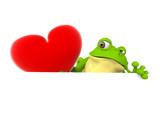 Rana con Corazón