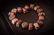 cuore di cioccolato - forma di cuore
