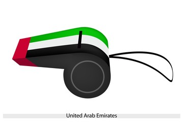A Whistle of The United Arab Emirates
