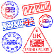 United Kingdom Rubber Stamps