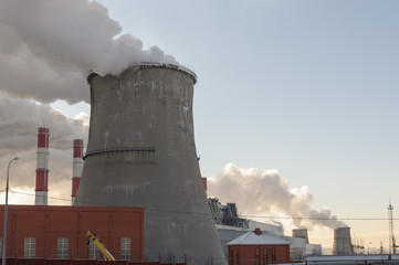Pipe Thermal Power Station