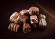 Cioccolatini variegati assortiti