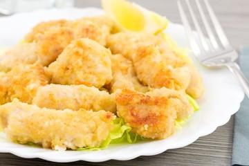 crocchette di pollo al limone