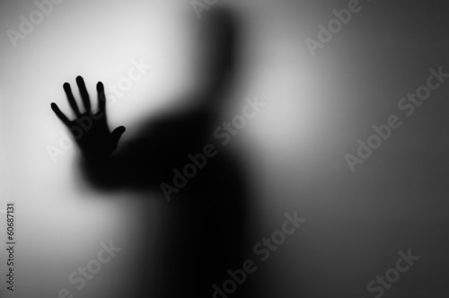 canvas print picture ghosts hand