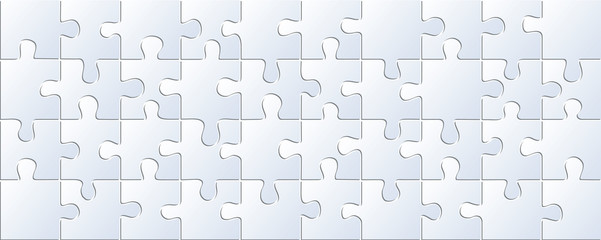 Vector textural background of puzzles