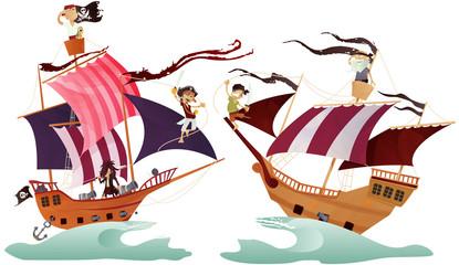 bateaux pirates