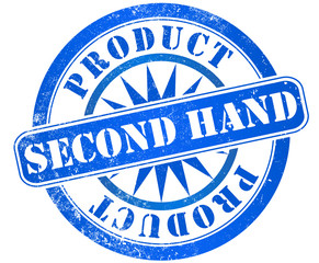 second hand stamp