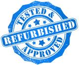 Refurbished stamp poster
