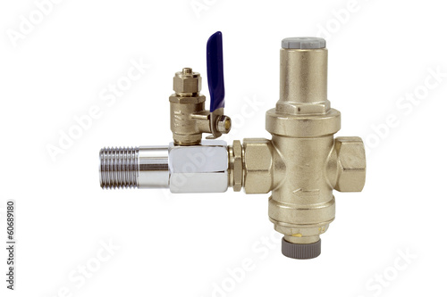 Water flow regulator with ball valve