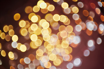 Abstract party light background.