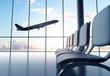 futuristic airport - 60690755