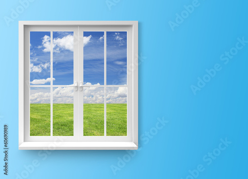Modern residential window