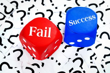 Fail or Success word