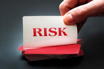 Risk card