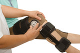 doctor adjustable angle knee brace support for leg or knee injur