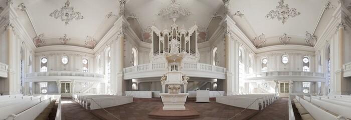 Ludwigskirche Saarbrücken Innenaufnahme