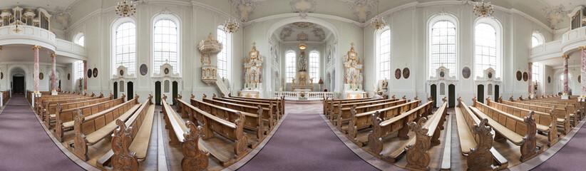 Basilika St. Johann Saarbrücken Saarbrücken Panorama