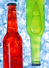Biermischgetränke auf Eis