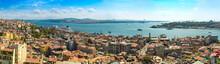 Istanbul panoramiczny widok z wieży Galata. Turcja