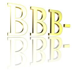 Ratingcode BBB-