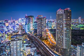 Tokyo, Japan at the Minato Ward District