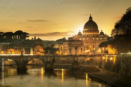 Foto op Plexiglas Rome Basilique Saint-pierre de Rome