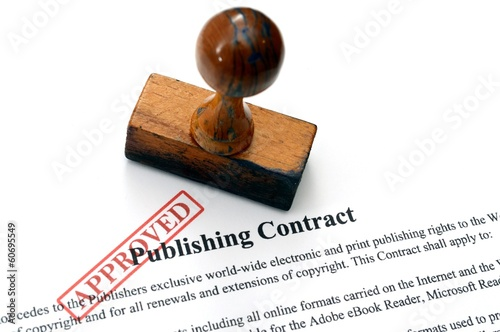 Publishing contract - approved