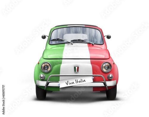Papiers peints Pays d Europe Voiture Italienne sur Fond Blanc