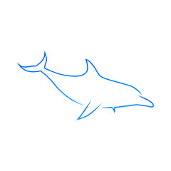 Dolphine Vector