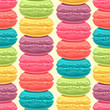 stacks of colored macaroons