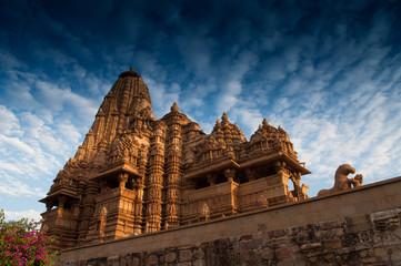 Kandariya Mahadeva Temple, Khajuraho, India. , UNESCO site.