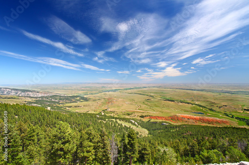 Wyoming Rural Countryside Scenery