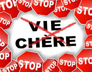 Stop à la vie chère