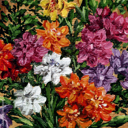 Picture, freesia flowers