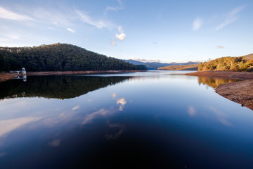 Lysterfield Lake at sunset