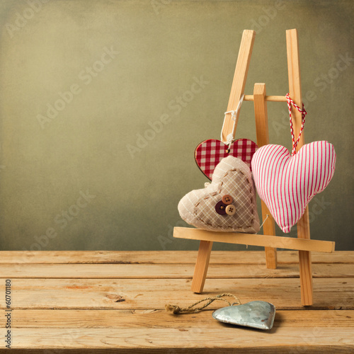 Valentine's day background with heart shape