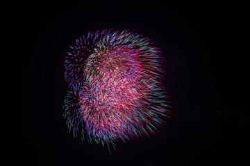 Fireworks  at Hua Hin District, Thailand