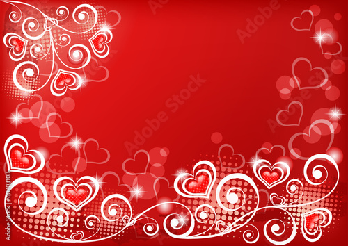 Valentine`s background