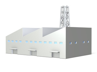 Miniature models of  factory