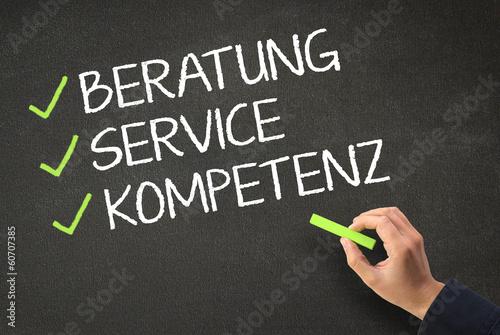 Beratung - Service - Kompetenz