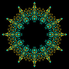 Traditional Persian-Islamic Pattern