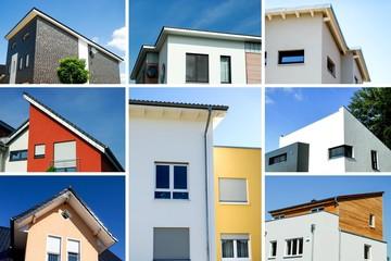Moderner Wohnhausbau, Collage