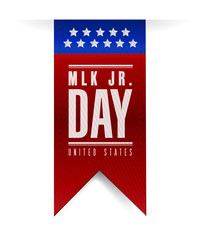 martin luther king jr day sign banner.