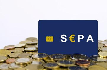Chipkarte: SEPA