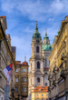 The Church of Saint Nicholas in Prague, Czech Republic