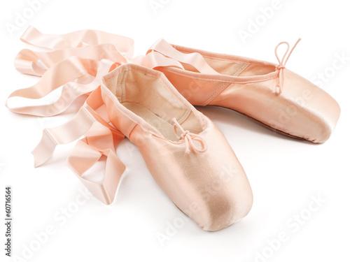 Leinwandbild Motiv Ballettschuhe