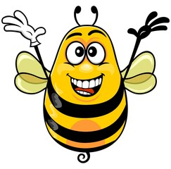 cartoon bee 02